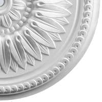 Sunflower Plaster Ceiling Rose 520mm